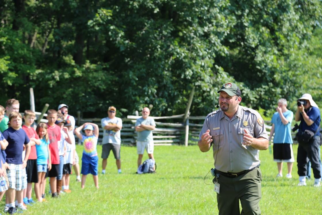 Pickett's Charge Event 2015