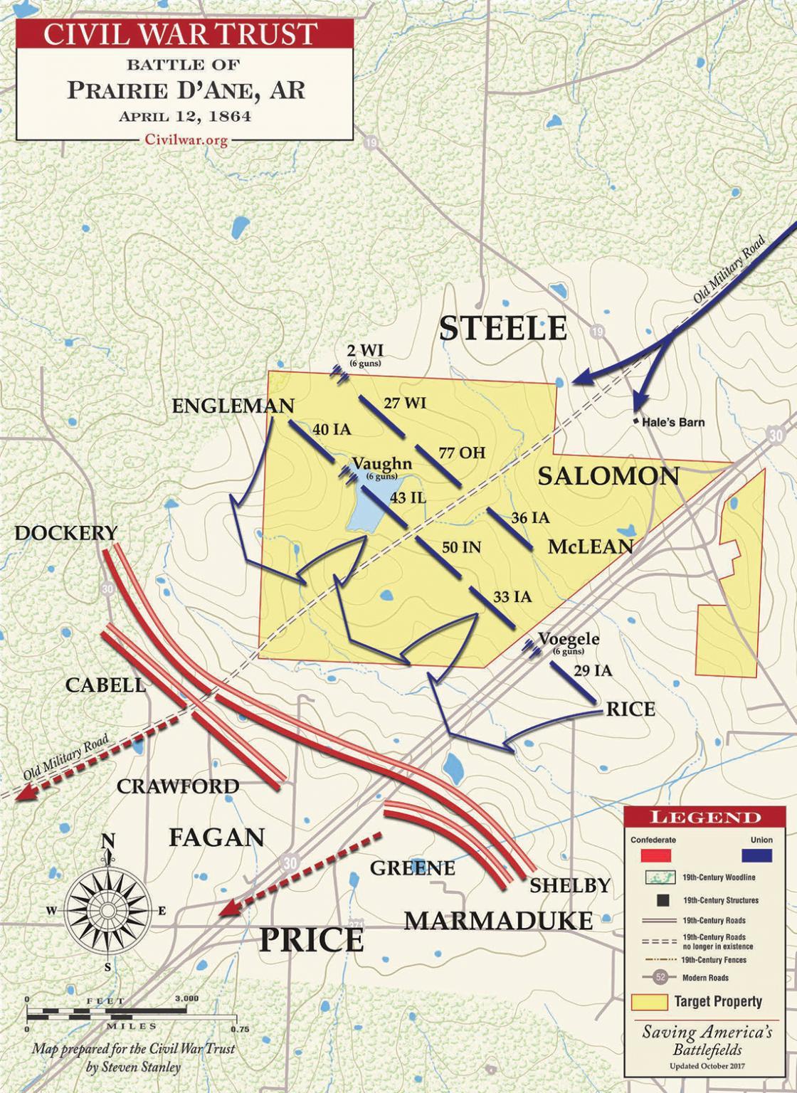 Prairie D'Ane - April 12, 1864