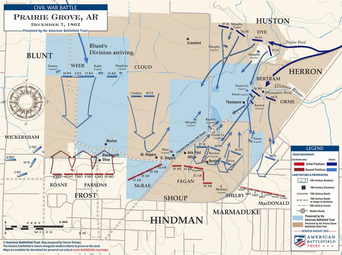 Prairie Grove - December 7, 1862 (August 2019)