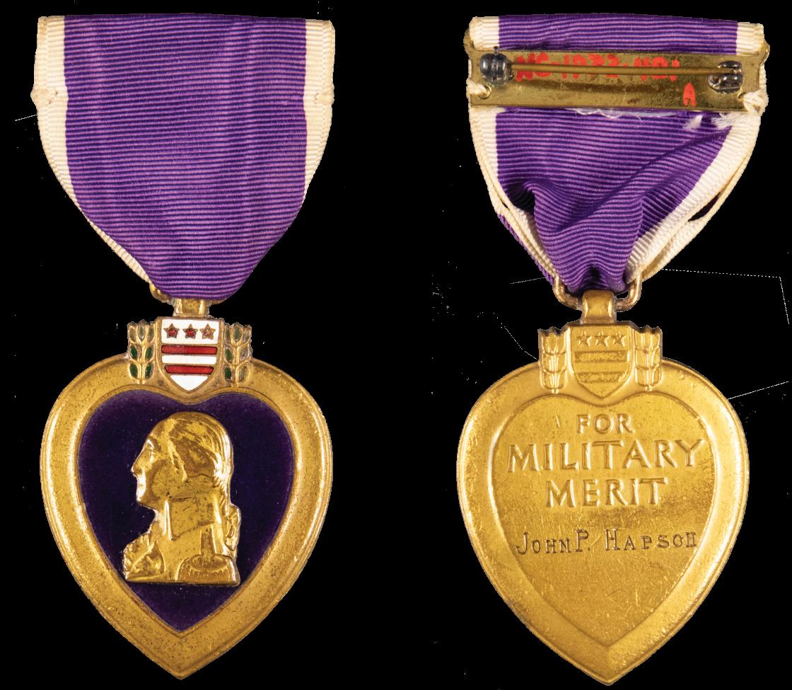 Purple Heart Award From WWI