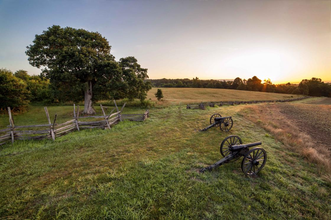 Scenic Cedar Mountain Battlefield