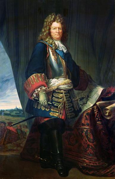 Portrait of a man standing.