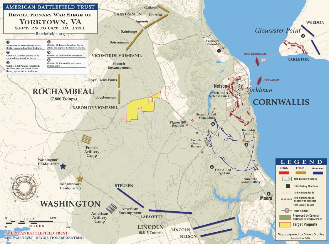 Yorktown - October 1781 | American Battlefield Trust