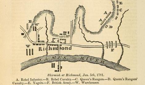 Skirmish at Richmond