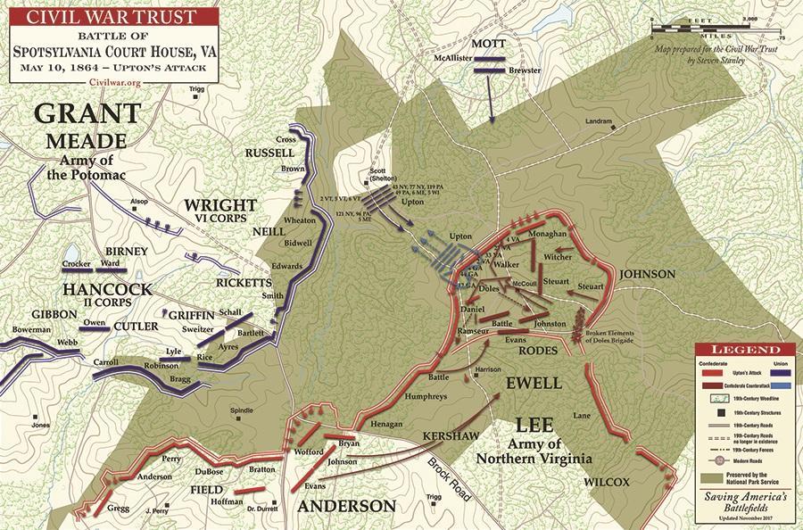 Upton's Assault Map