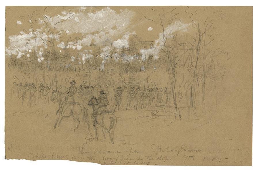 Spotsylvania Drawing