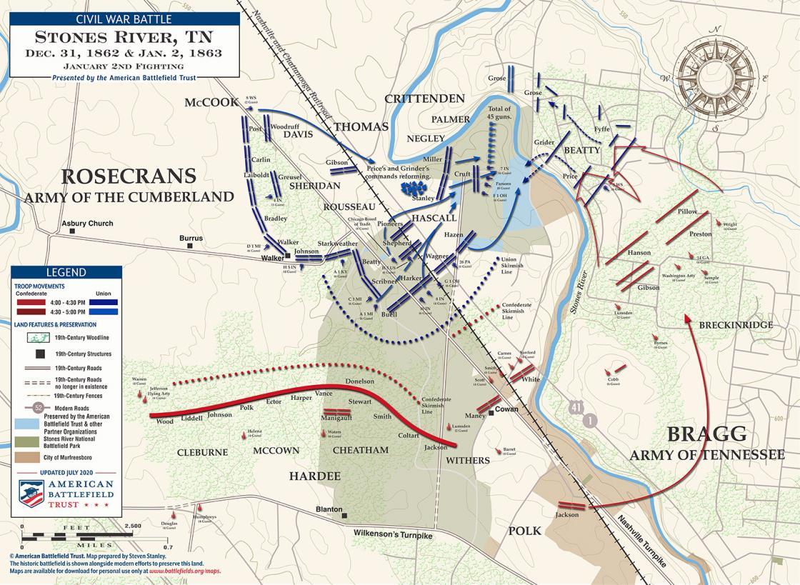 Stones River - January 2, 1863 (July 2020)