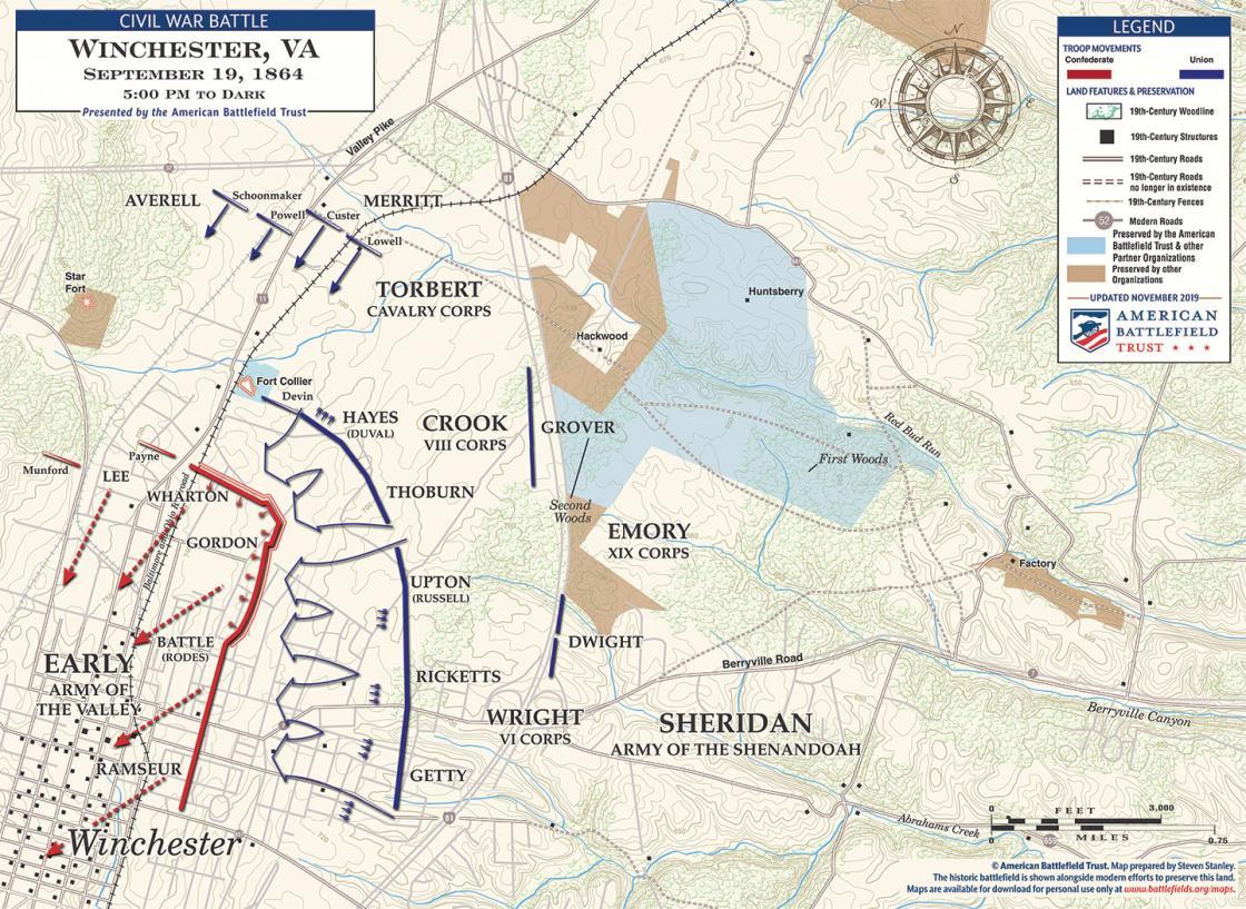 Third Winchester - September 19, 1864 - 5pm to Dark (November 2019)