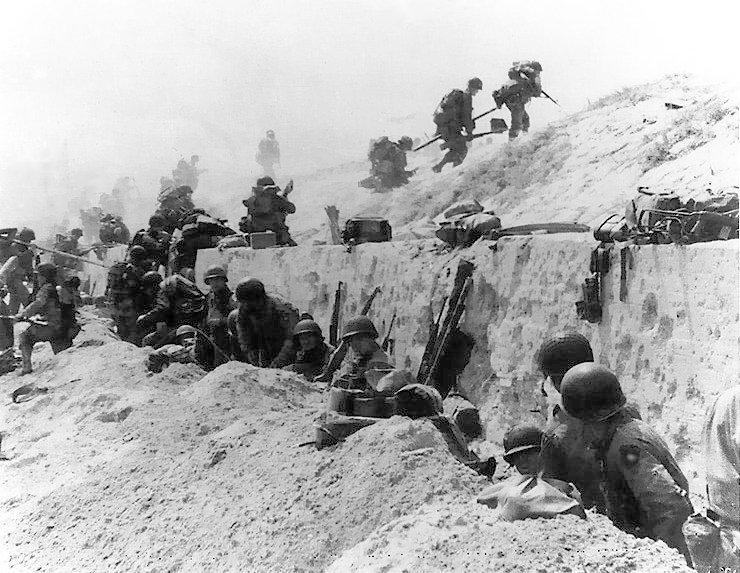 8th Infantry on Utah Beach