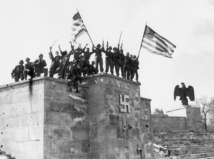 US Troops Nuremberg 1945