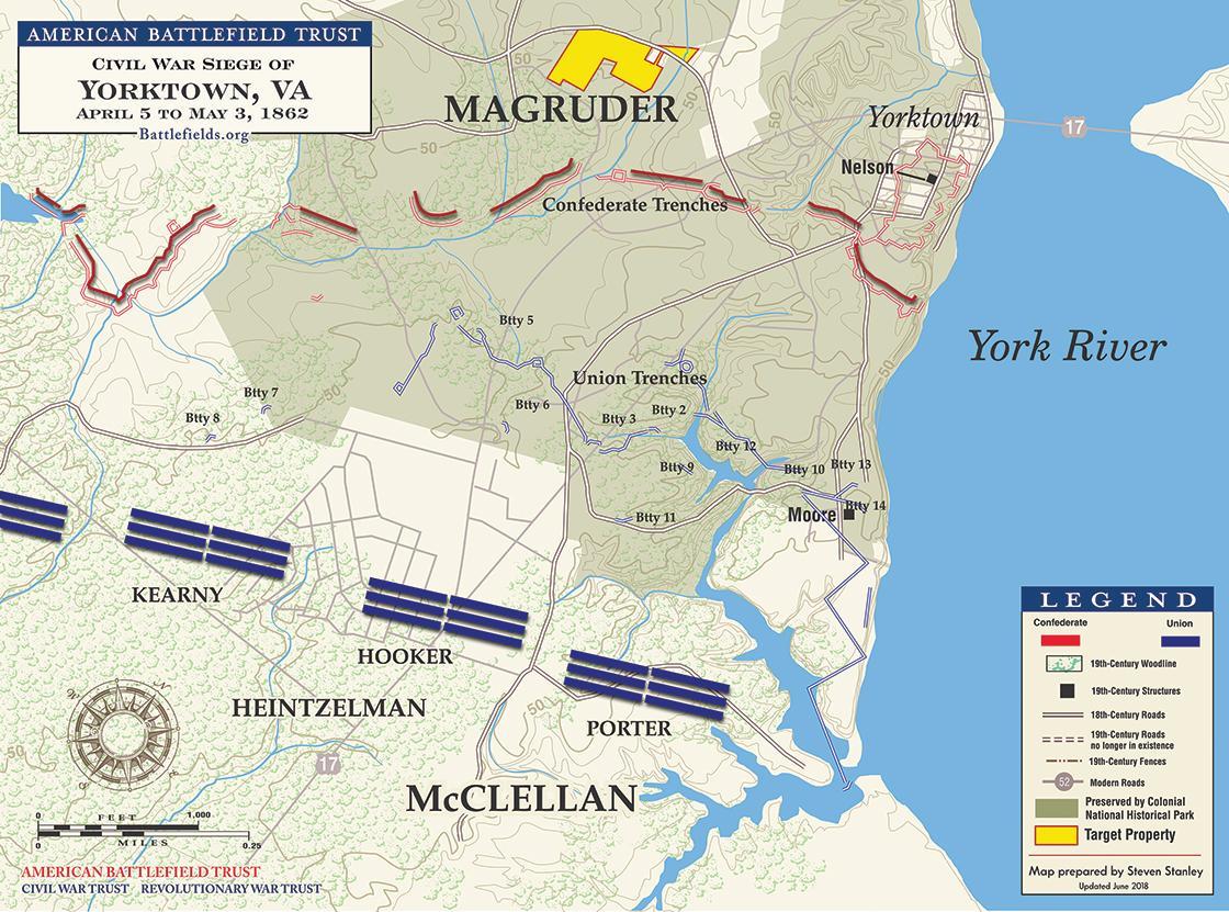 Siege of Yorktown - 1862