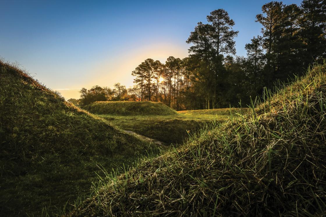 Yorktown Battlefield Sunrise