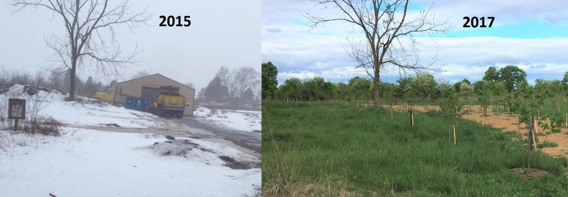 Antietam Restoration Before & After