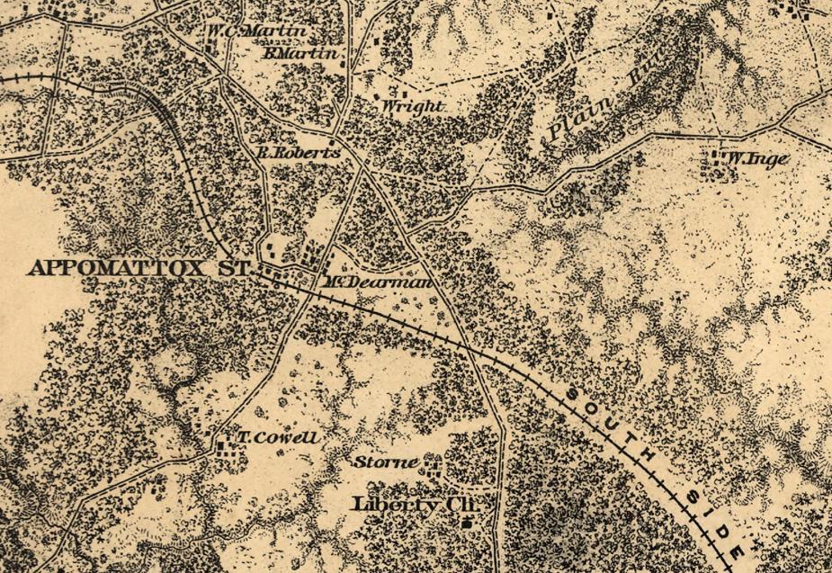 Appomattox Station Detail