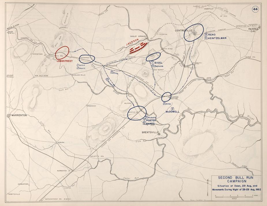 Second Manassas Campaign - August 28-29. 1862
