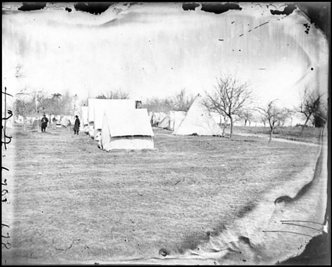 Union Balloon Camp at Falmouth, Virginia