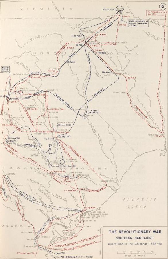 Maps of Ninety Six South Carolina 1781 American Battlefield Trust