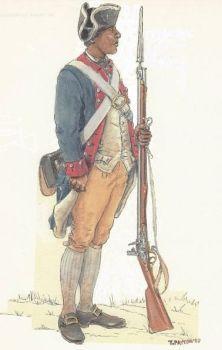 Black Continental Soldier