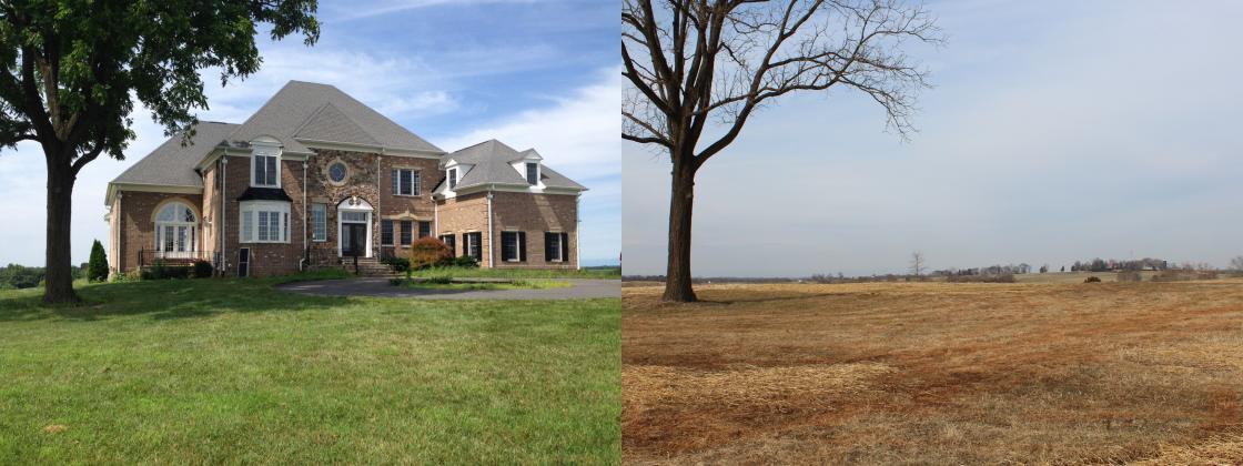 Brandy Station Before & After Restoration