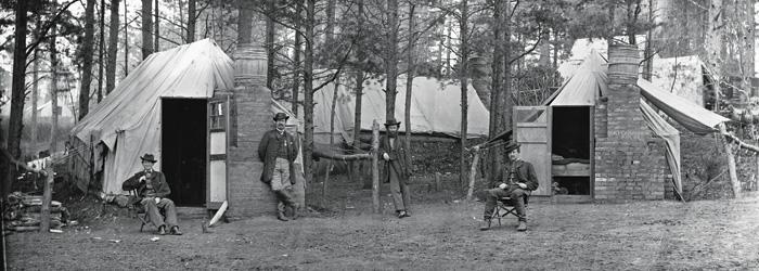 Brandy Station camp