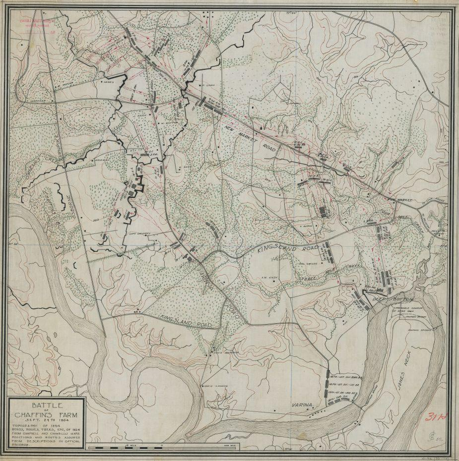 Battle of Chaffin's Farm, Sept. 29th 1864