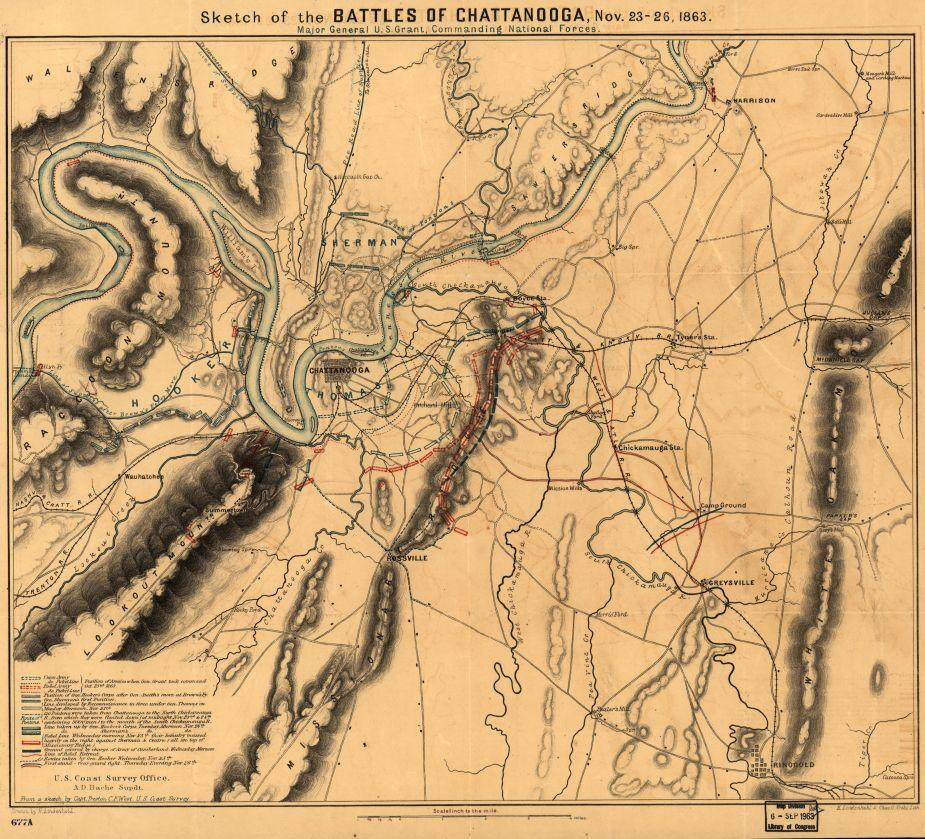 Sketch of the battles of Chattanooga