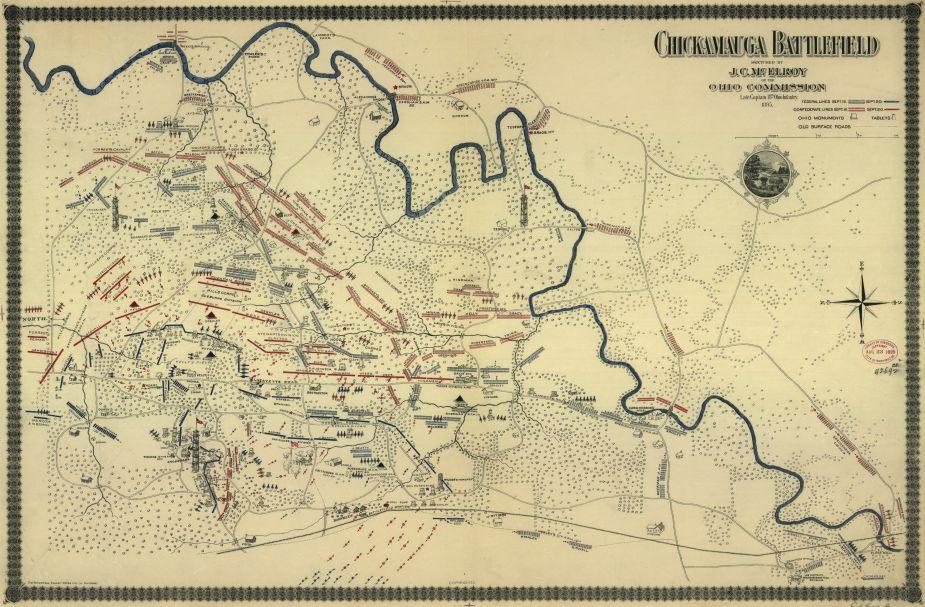 Chickamauga Battlefield McElroy American Battlefield Trust