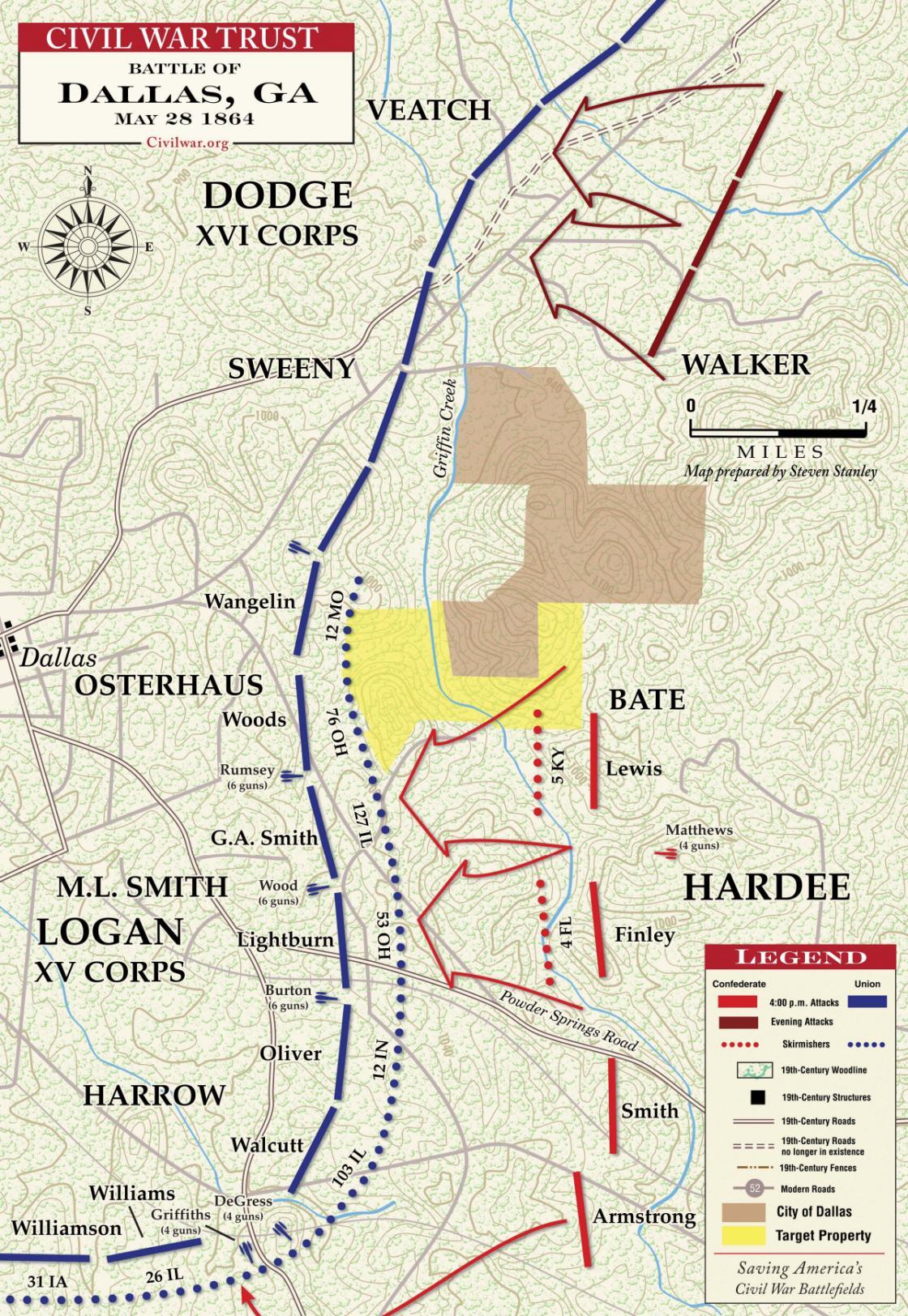 Dallas - May 28, 1864