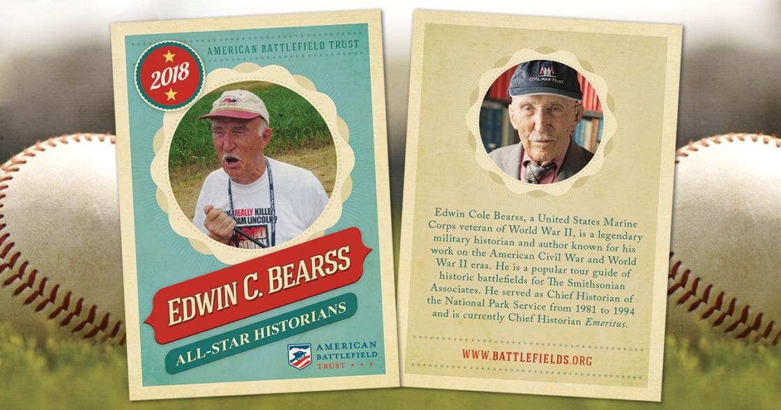 Ed Bearss Trading Card