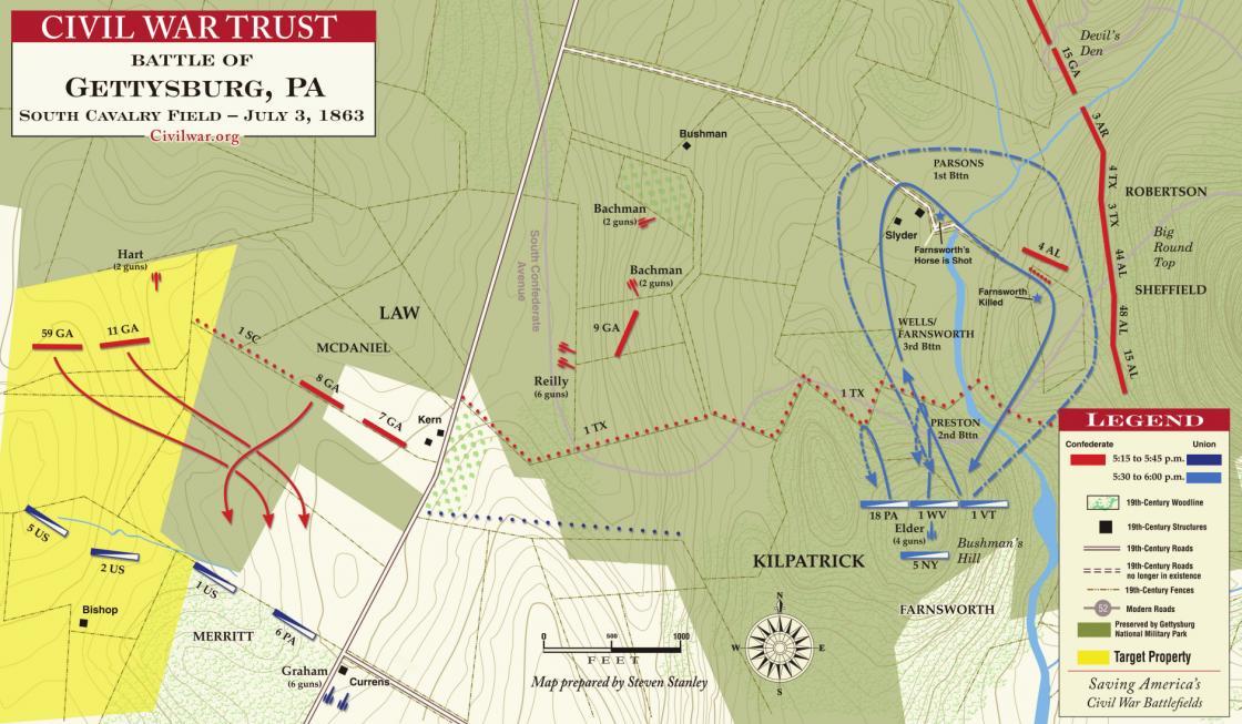 Gettysburg - South Cavalry Field