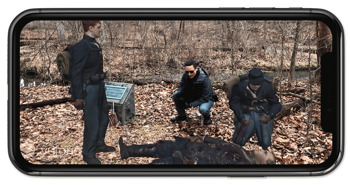Gettysburg Augmented Reality App