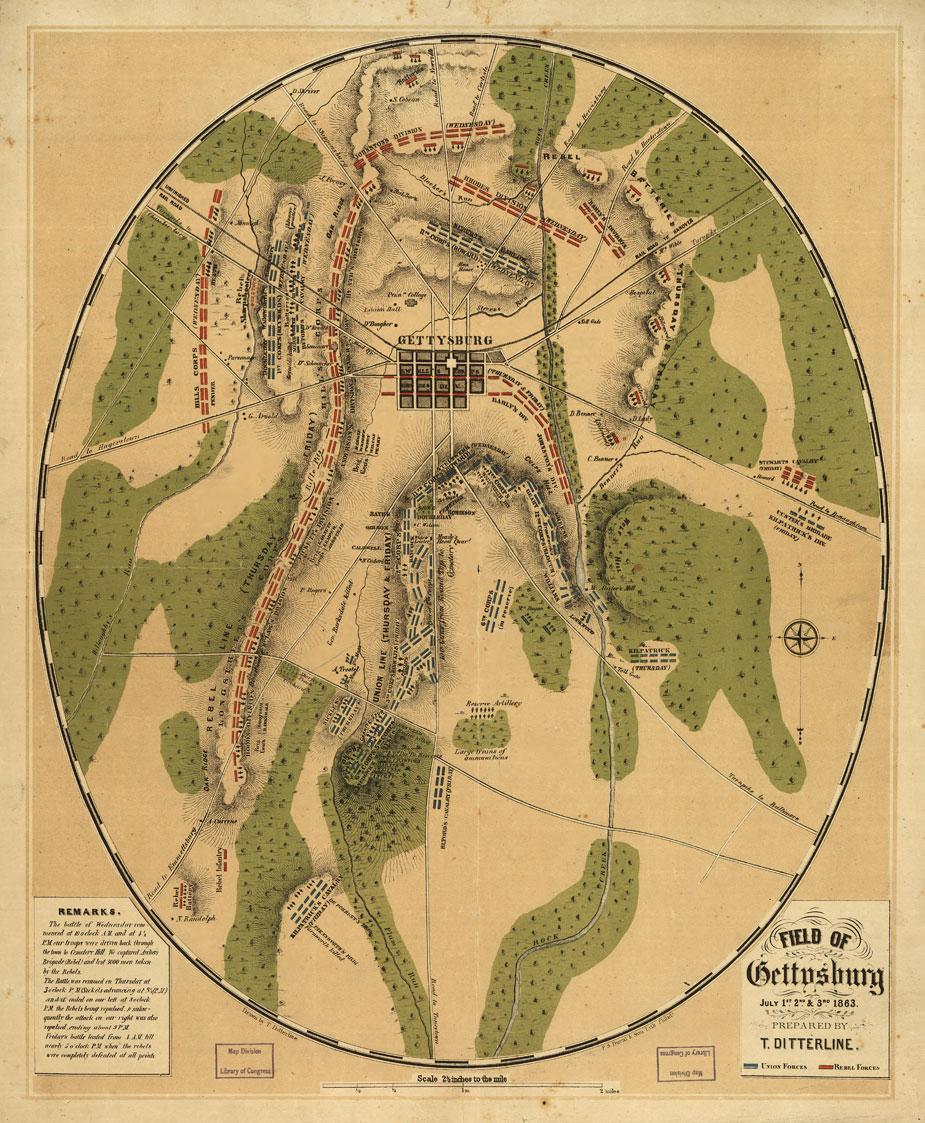 Battle of Gettysburg - Ditterline