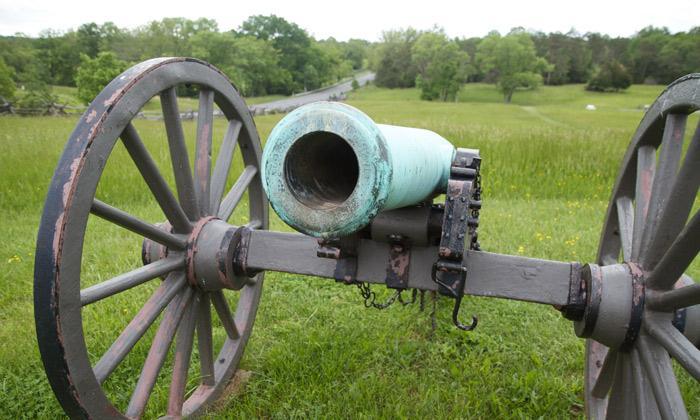 Hazlett's Guns at Second Manassas 700px