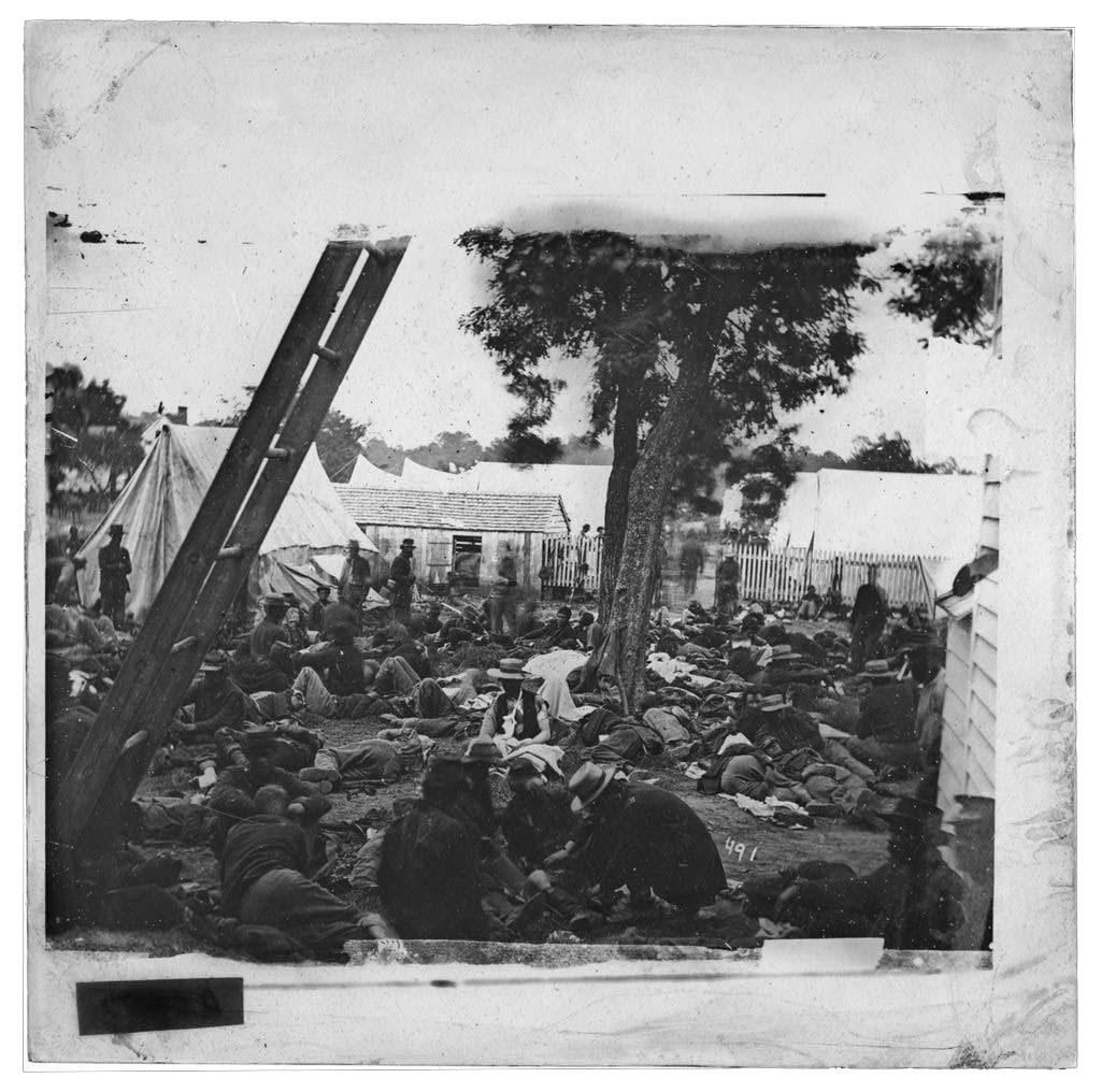 Savage Station, Va. Field hospital after the battle of June 27