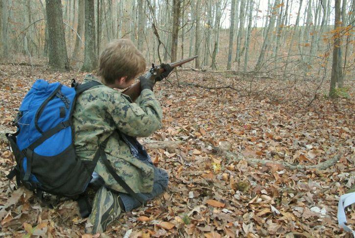 kid on mine run battlefield