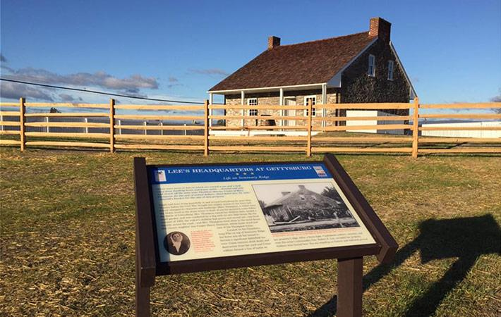 View from First Interpretive Sign