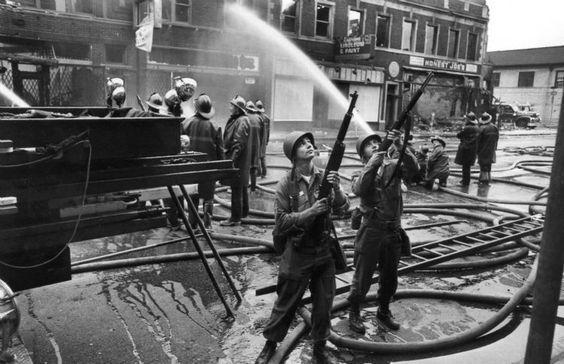 Michigan Army National Guard 1967 Detroit riots