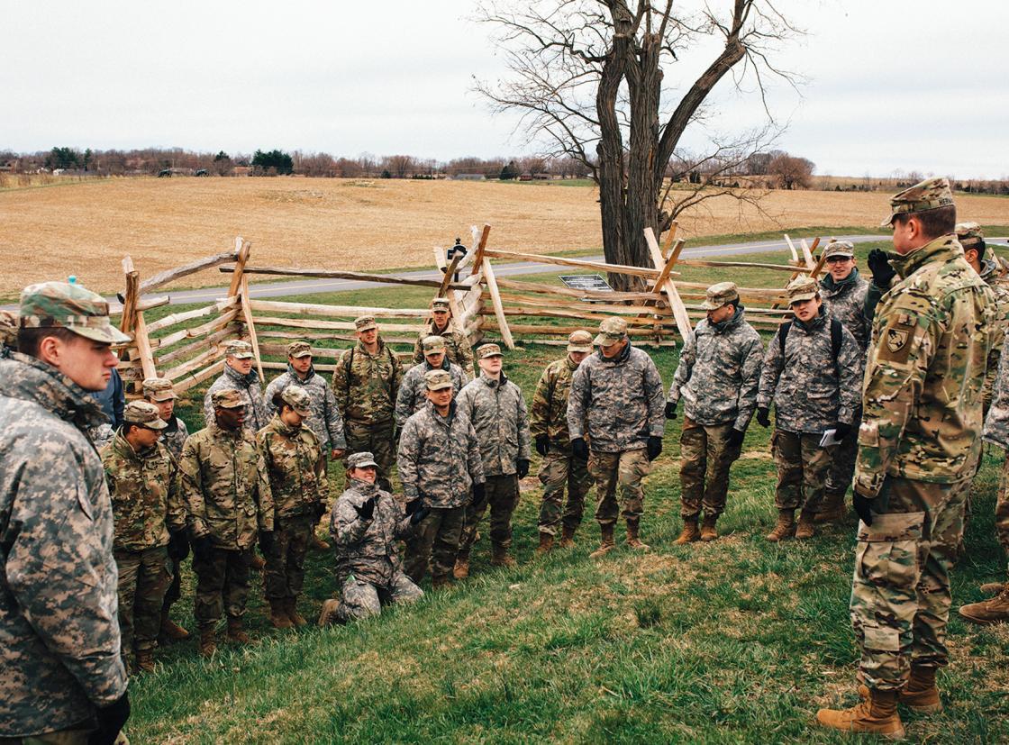 Veterans Survey Military Staff Ride Antietam
