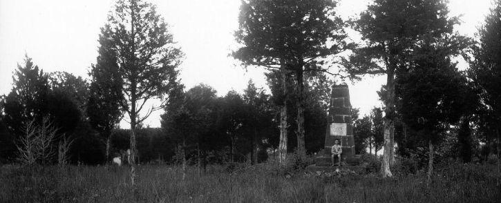 Groveton Monument - Before