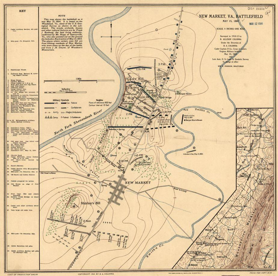 New Market Va battlefield May 15 1864  Civil War Trust