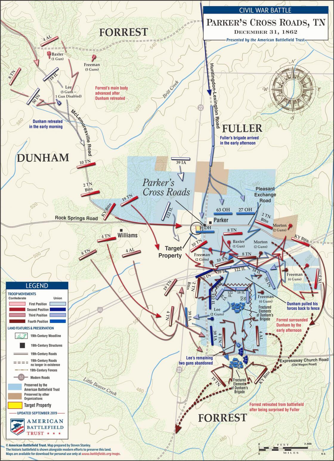 Parker's Cross Roads - December 31, 1862 (September 2019)
