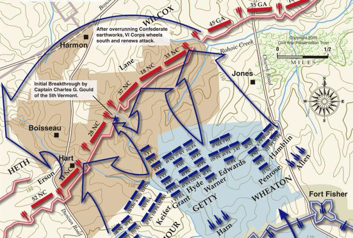 Two Days in April Breakthrough at Petersburg  Civil War Trust