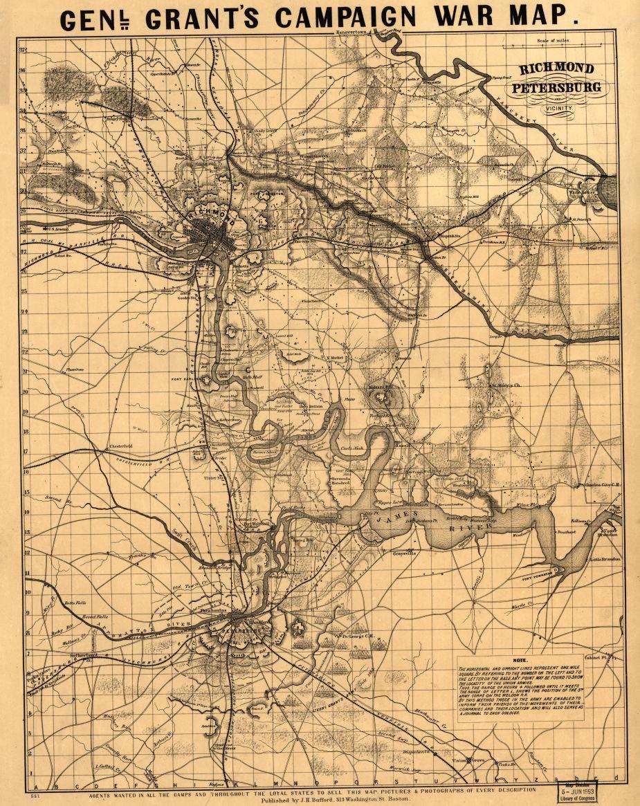 Richmond Petersburg And Vicinity Civil War Trust - Washington dc map civil war