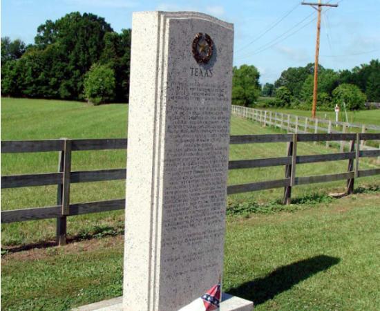 Raymond Battlefield Texas Memorial