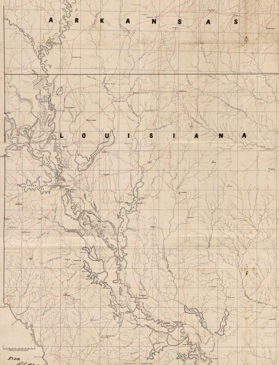 The Red River Campaign Maps American Battlefield Trust