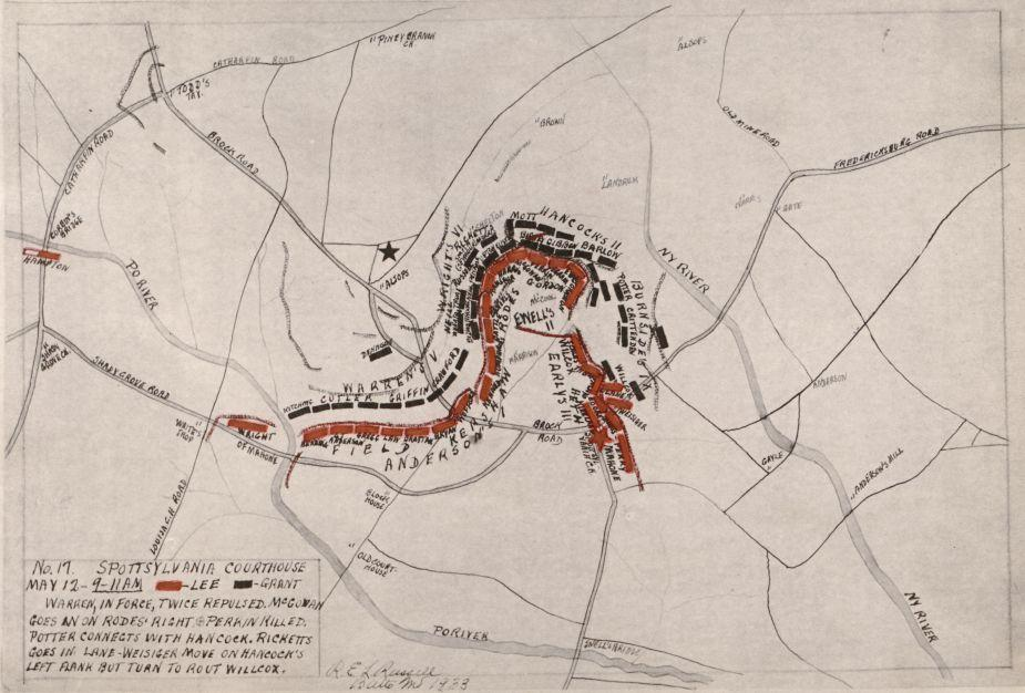 No. 17 - Spottsylvania [sic] Courthouse, May 12, 1864 - 9-11 A.M