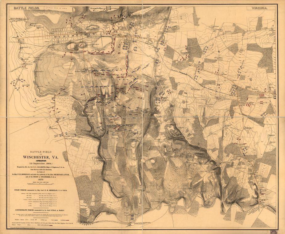 Battlefield of Winchester Va Opequon  Civil War Trust