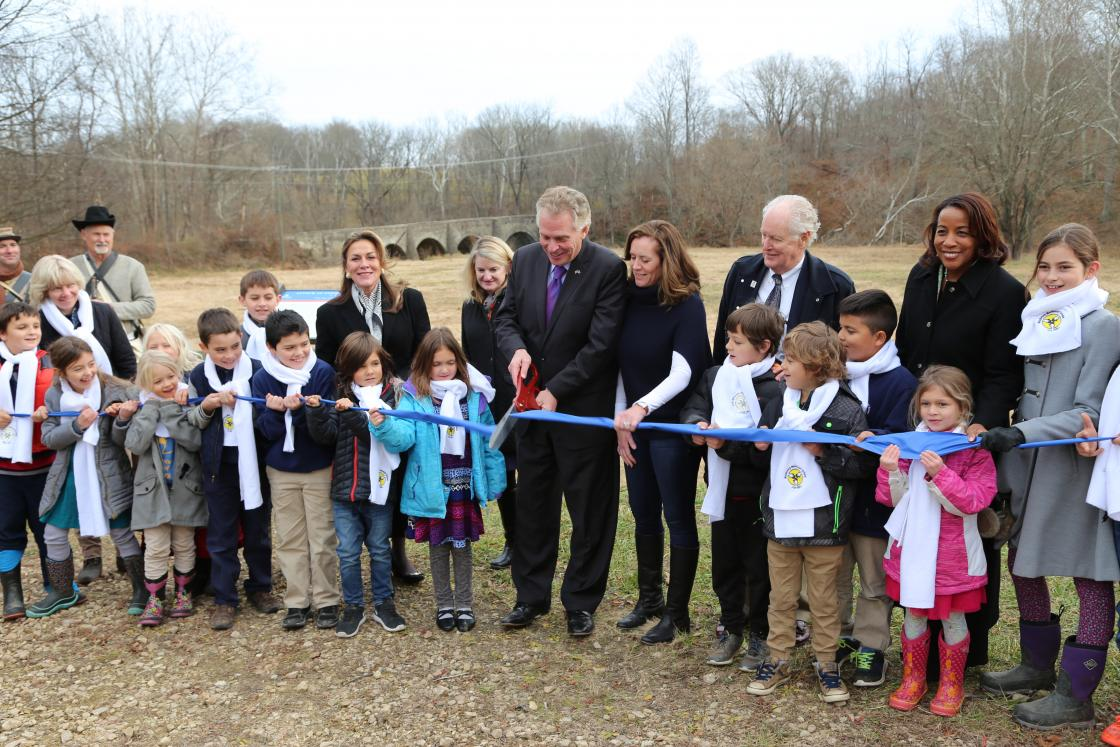 Ribbon Cutting at Upperville