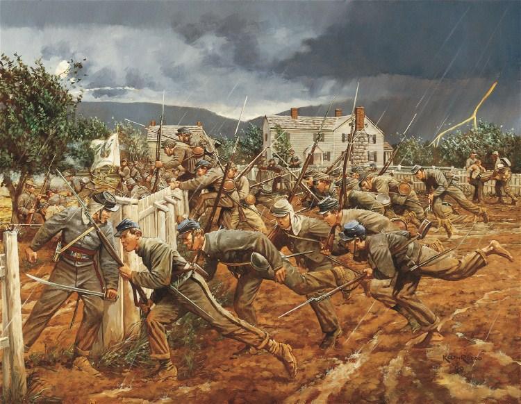 VMI Cadets Struggle Through the Mud