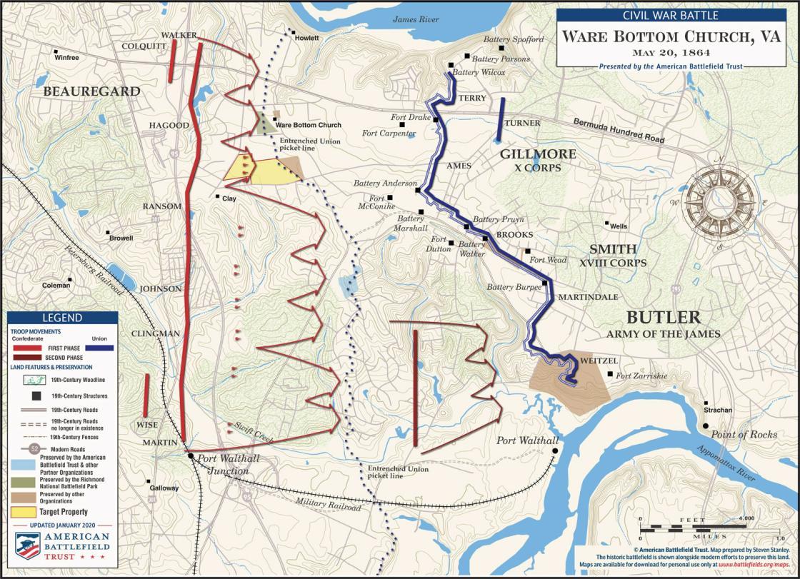 Battle of Ware Bottom Church - May 20, 1864